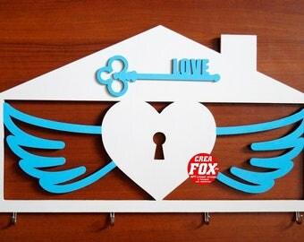 """Key Holder """"Heart"""""""