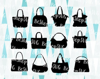 Handbags SVG, Handbags Bundle SVG, Purse SVG, Hand purse Svg, Fashion Svg, Bags Svg, Instant download, Big purses Svg, Eps - Dxf - Png - Svg