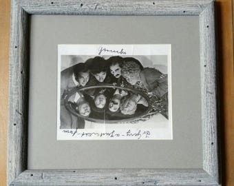 Groucho Marx, Autograph, Photo, Framed Print, 50s