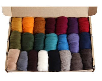 Ashford merino sample packs (darks)
