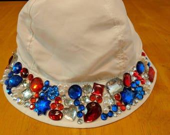 BabyGirl Fourth of July Hat
