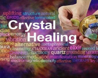 Distant Reiki and Crystal Healing with written guidance