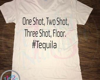 Mens Shirt, Comedy, Funny Shirts, Tequila, Mens Clothing, T-Shirt, Party Shirt