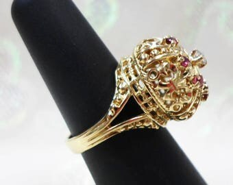 18K Royal Crown  Ring