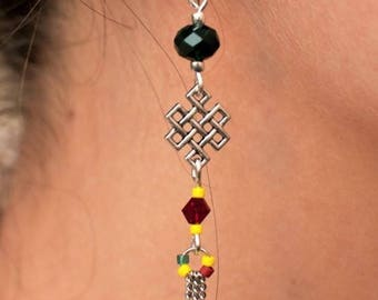 Earrings Sun Catcher