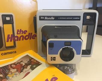 Kodak 'The Handle' 1977 Polaroid Camera with Film Cartridge