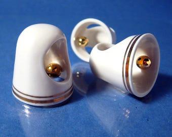 The Orbit, porcelain ring
