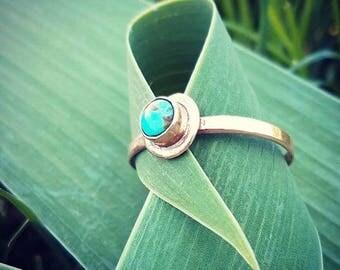 handmade copper ring size 12