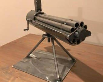 Gatling Gun, Rotating