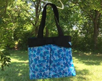 Pleated & Bow Tote Bag