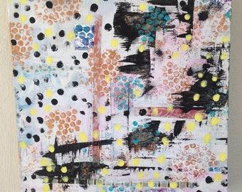 Original Mixed Media Art on Canvas