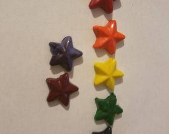 Star shaped crayons