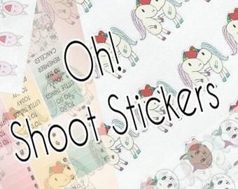 Oh! Shoot Sticker Grab Bag