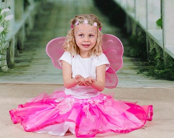 Fairy outfit with wings, skirt and circlet