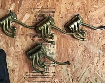 Swivel Brass Coat Hooks