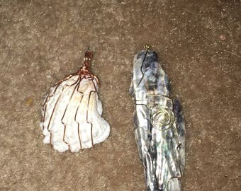 Sea Shell Pendants