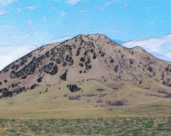 Bear Butte State Park PostCard