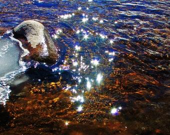 Fairy Dust Sun Glitter. A Whimsical, Original Photography Print