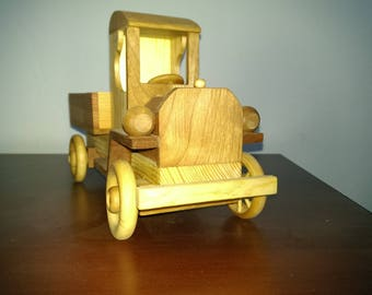Wood toy truck ccab_2