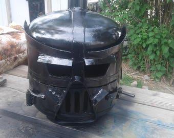 Darth Vader fireplace