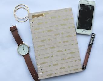 Archers Blush Handmade Coptic Stitch Notebook