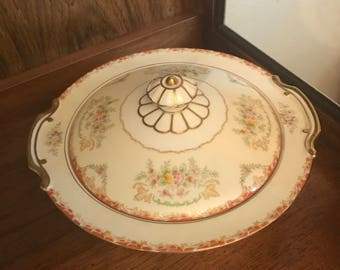 Noritake China - Very Vintage, Pre-WWII 1930's Serving dish and platter