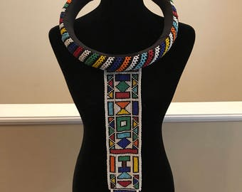 Southern African Bead Costume Piece