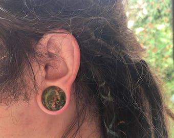 Ear plugs/gauges/tunnels