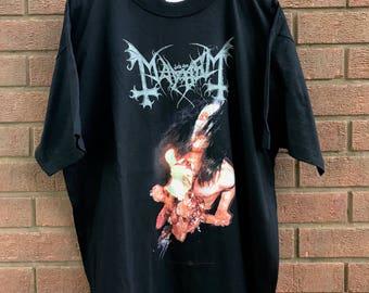 MAYHEM Misanthropy 1998 shirt XL