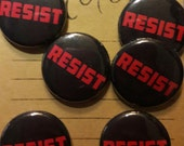 RESIST 1-Inch Button