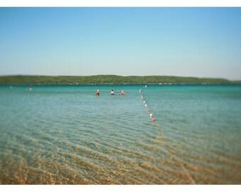 Landscape Photograph - Michigan Photography - Bathing Beauties - Nature Photograph - Oversize Art - Nautical Decor - Friendship Print