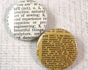 Art Pinback Button Set
