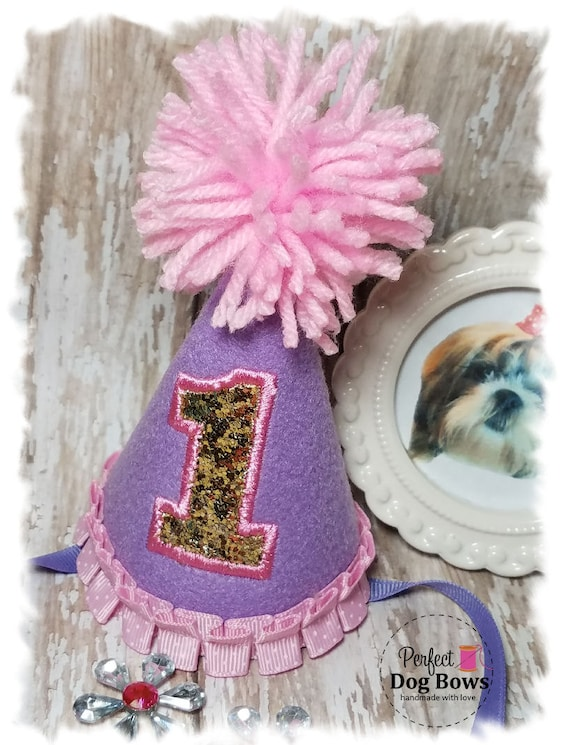 Dog Birthday Hat//Dog Party Hat//Dogs Birthday//Dogs First Birthday//Pet Lover Gifts