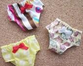 3 panties for Blythe, Lati Yellow, Ming, Meng and Mong  SET H