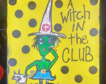 A witch in the club by kook