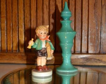 Vintage Turquoise Perfume Bottle - Erphila - Germany - Royal Hill Vintage