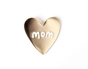 Heart of Gold, Mom Enamel Pin