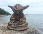 Bronze Yoda Buddha  Statue original  Sculpt and cast