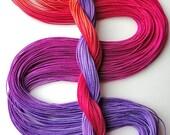 "Size 10 ""Corsage"" hand dyed thread 6 cord cordonnet tatting crochet cotton"
