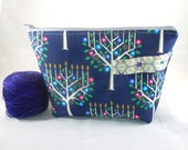 RESERVED FOR BA  Tree of Life zippy bag by AnniePurl