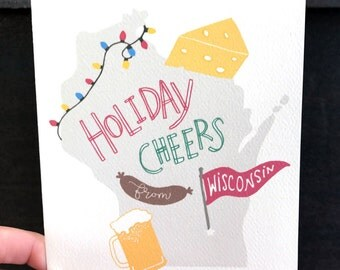 Holiday Cheers from Wisconsin!