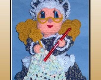 Crochet Fairy Doll Pattern, crochet pattern, crochet fairy, crochet doll