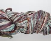 Handspun Corriedale Wool Yarn.  Single Ply Worsted Weight. appx. 7oz 180 yards