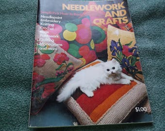 Vintage Needlework and Crafts How to Booklet