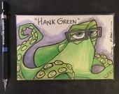 Hank and Hank Green Sketch