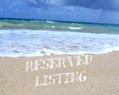 RESERVED listing for Collette