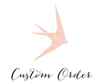 custom listing for Clarabelle