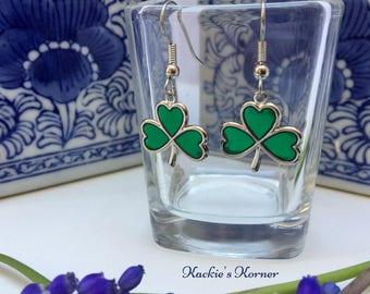 Earring Irish Shamrock