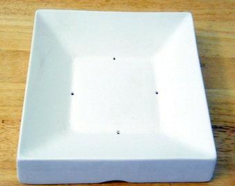 7.25 inch Square Ceramic Pottery Glass Fusing Slumping Mold