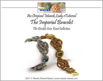 eTUTORIAL The Double Coin Knot Imperial Bracelet